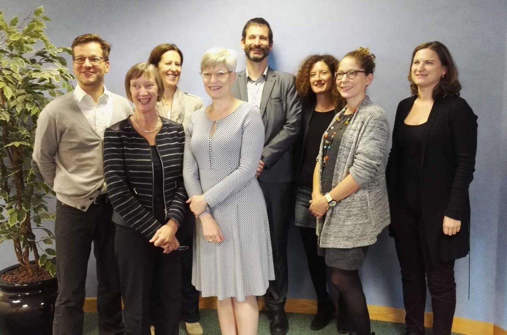 Equinet Executive Board 2015-2017 (taken Sep. 2017): P. Polak, E. Collins, K. Lykovardi, K. Pimiä, P. Charlier, S. Benichou, Tena S. E., S. Konstatzky, (missing A. Blaszczak)