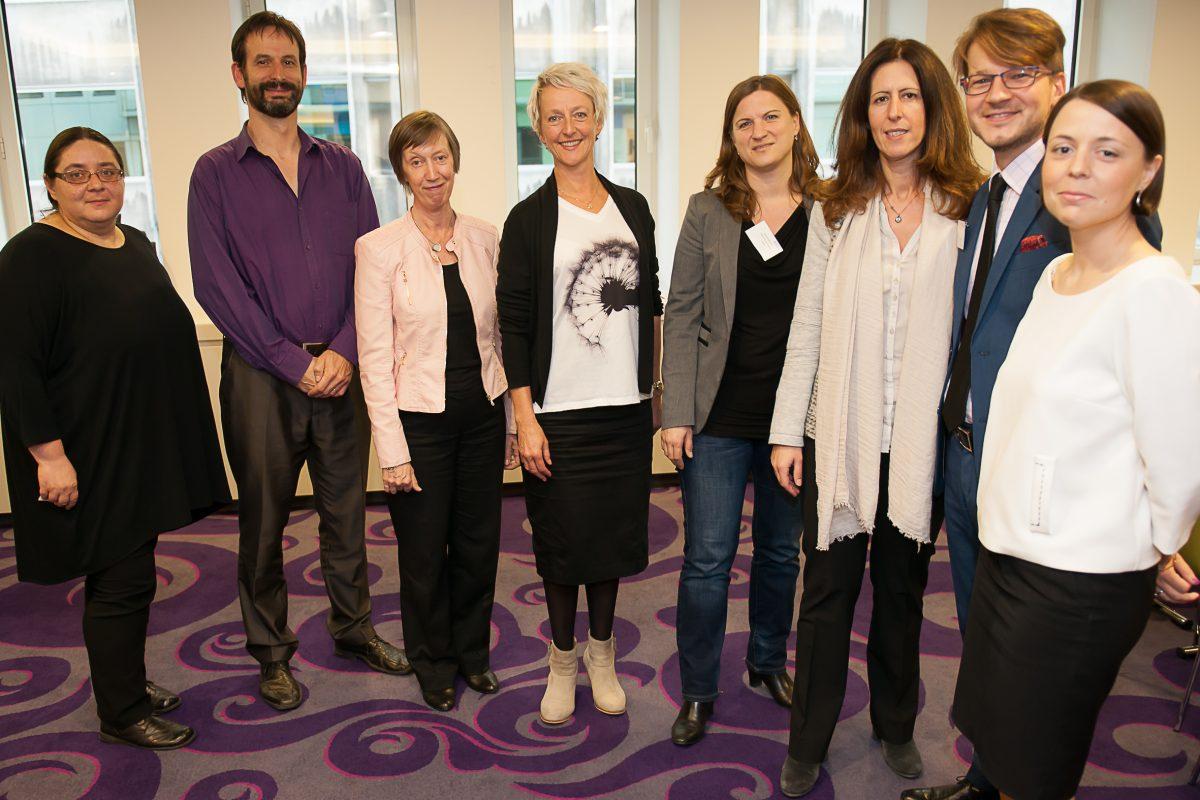 Equinet Executive Board 2015-2017 (taken Oct. 2015): K. Beker, P. Charlier, E. Collins, E. Lier Haugseth, S. Konstatzky, K. Lykovardi, P. Polak, A. Blaszczak (missing S. Benichou)