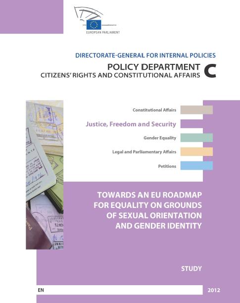 Towards an EU Roadmap on LGBT cover