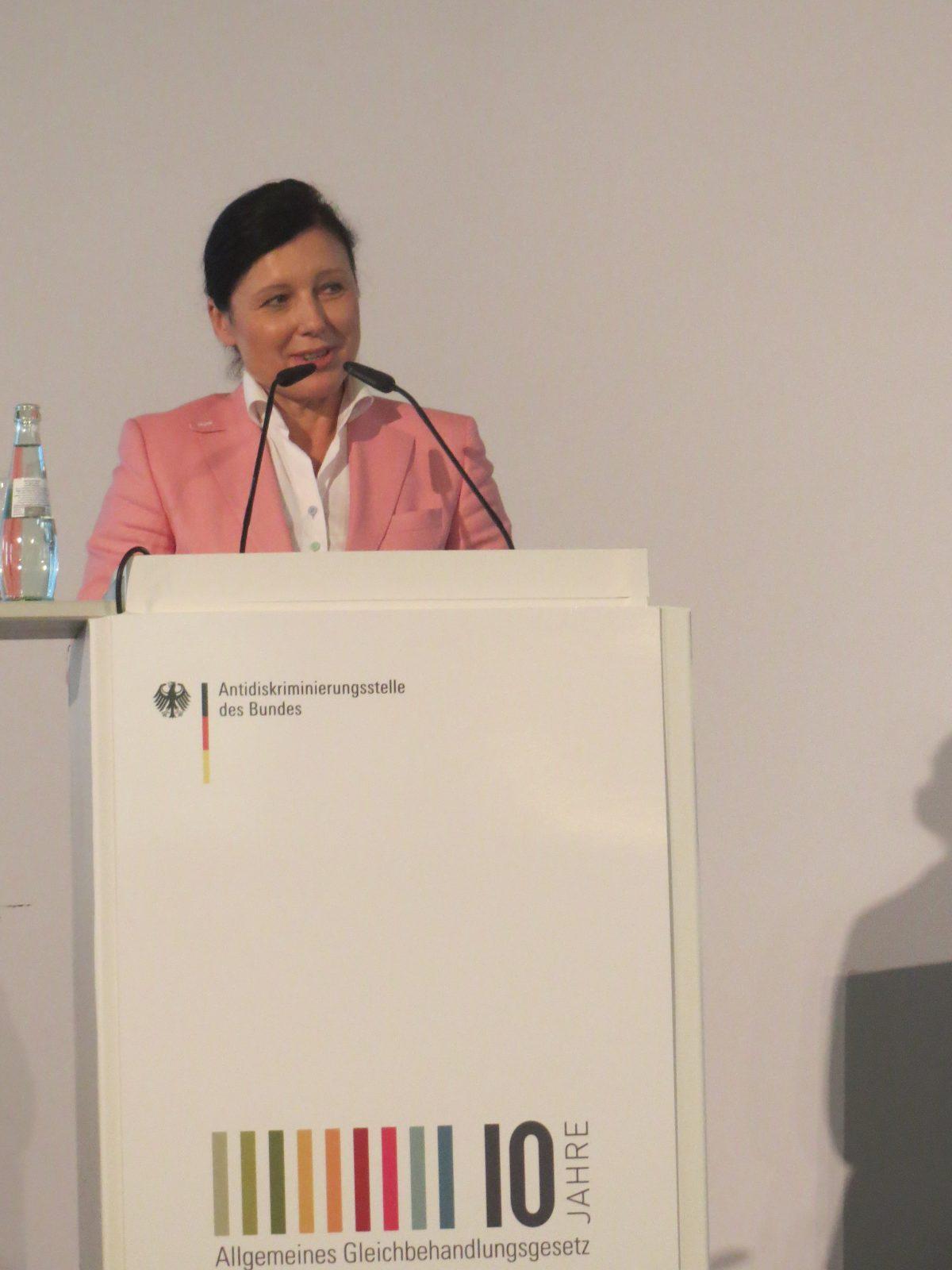 Commissioner Vera Jourova: