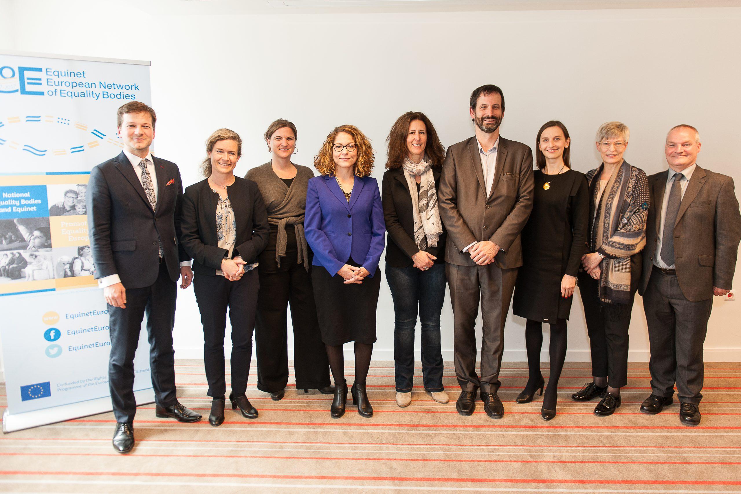 From left to right: P.Polák, V.Fontaine, S.Konstatzky, T.Šimonović Einwalter, K.Lykovardi, P.Charlier, S.Spurek, K.Pimiä, L.Bond