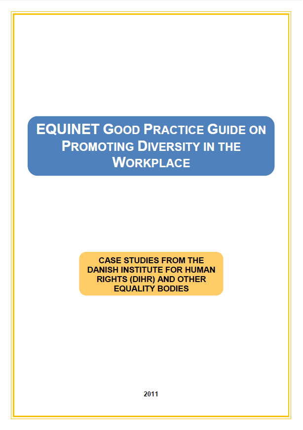 Good Practice Guide on Promoting Equality in the Workplace (2011)