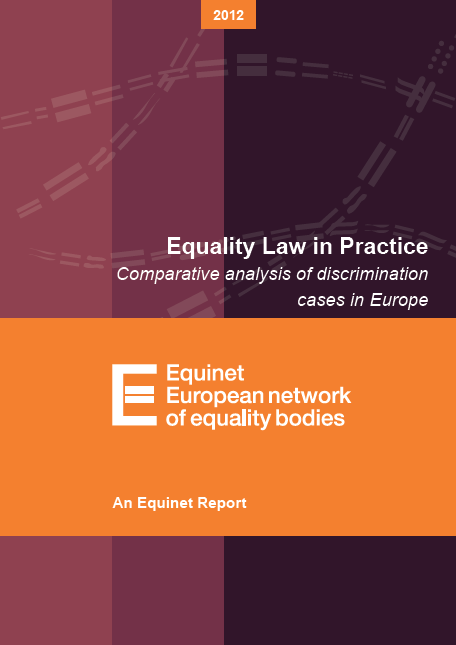 Comparative analysis of discrimination cases (2012)